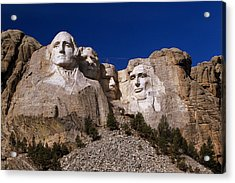 Acrylic Print featuring the photograph Mount Rushmore National Monument by Paul Svensen