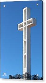 Mount Soledad Cross La Jolla Acrylic Print by Russ Harris