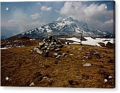 Mount St Barthelemy Acrylic Print by Frederic Vigne