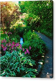 Mount Usher Gardens, Co Wicklow Acrylic Print by The Irish Image Collection