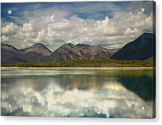 Mountain Lake Acrylic Print by Tim Reaves