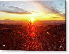 Mountain Light Acrylic Print