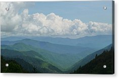 Mountain Magnificence Acrylic Print by Michael Carrothers