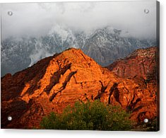 Acrylic Print featuring the photograph Mountain Mist by Marta Alfred