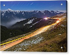Mountain Road Acrylic Print by Higrace Photo