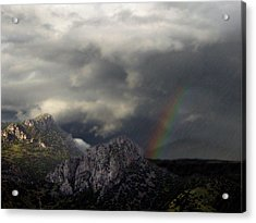 Mountain Storm Acrylic Print