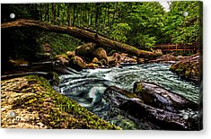 Mountain Stream Iv Acrylic Print by Christopher Holmes
