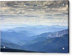 Mountain View, Usa Acrylic Print by Bob Gibbons