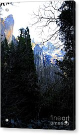 Mountains Of Yosemite . 7d6214 Acrylic Print by Wingsdomain Art and Photography