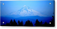 Mountian Blues Acrylic Print