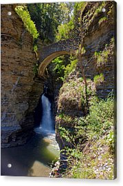 Mouth Of The Glen Watkins Glen State Prk Acrylic Print by Joshua House
