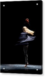 Moved Dance. Acrylic Print by Raffaella Lunelli