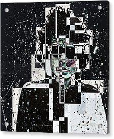 Mr Bob Dylan Acrylic Print