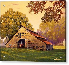 Mr. D's Barn Acrylic Print