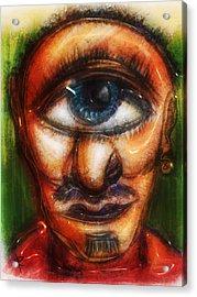 Mr. Myopic Acrylic Print