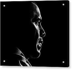 Mr. President Acrylic Print by Jeff Stroman