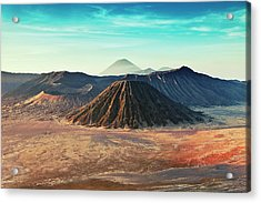 Mt. Bromo, Indonesien Close-up Acrylic Print by Daniel Osterkamp