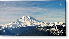 Mt Rainier Panoram Acrylic Print