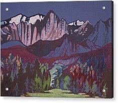 Mt Whitney Acrylic Print