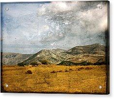 Mt Zeus At Sunset Acrylic Print