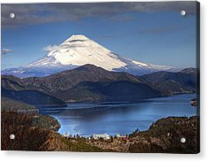 Mt.fuji And Lake Ashinoko-ii Acrylic Print