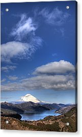 Mt.fuji And Lake Ashinoko Acrylic Print