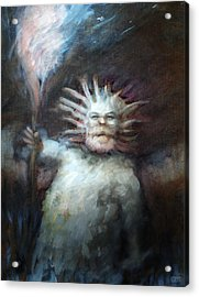 Mtnman Acrylic Print by Ethan Harris