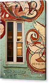 Mu Wall Acrylic Print by Aimelle