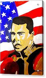Muhammad Ali Acrylic Print by Estelle BRETON-MAYA