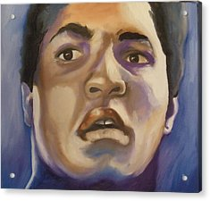 Muhammad Ali Acrylic Print by Matt Burke