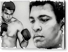 Muhammad Ali Acrylic Print by Tilly Williams