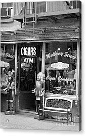 Mulberry Street Cigar Acrylic Print