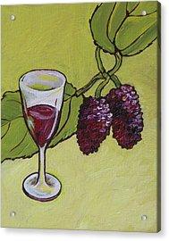 Mulberry Wine  Acrylic Print