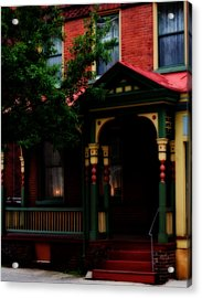 Multi Color Acrylic Print by Jessica Baker