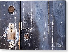 Acrylic Print featuring the photograph Multiple Locks by Agnieszka Kubica