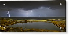 Multiple Strikes Acrylic Print