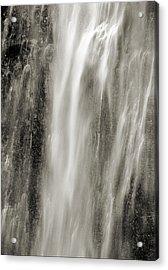 Multnomah Cascade 4 Platinum Acrylic Print