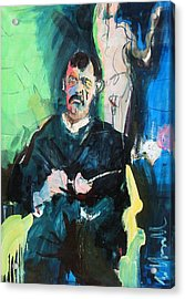Munch Acrylic Print by Les Leffingwell
