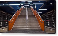 Munich Subway No.4 Acrylic Print by Wyn Blight-Clark