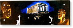 Mural - Night Acrylic Print