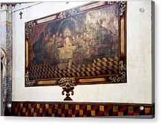 Mural At San Xavier Mission  Acrylic Print