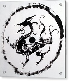 Mural Dragon Acrylic Print