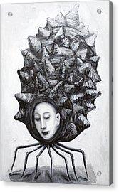 Muse In A Shell Acrylic Print by Kazuya Akimoto