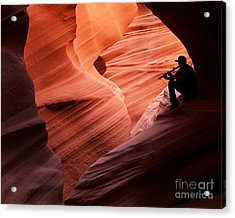 Music In The Canyon Acrylic Print