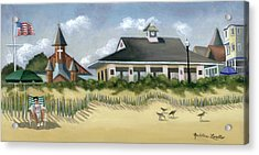 Music Pavillion In Ocean Grove  Acrylic Print