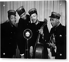 Music: The Ink Spots Acrylic Print by Granger