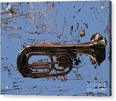 Musical Noise Acrylic Print by Al Bourassa