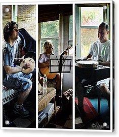 Musicians Acrylic Print