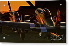 Mustang Alley Acrylic Print