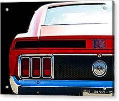 Mustang Mach 1 Acrylic Print by Douglas Pittman